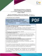 Guia de activiades y Rúbrica de evaluación - Momento 2 - Reflexionar en las temáticas del curso y seleccionar la institución