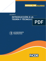 Introducción a La Teoría y Técnica Del At
