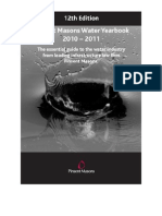 Water Yearbook 2010-2011