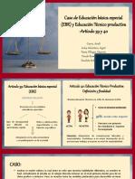 Articulo 39 y 40 (Ebr)
