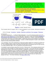 Circular Culvert Design Culvert Calculations _ Software _ Equations