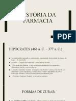 aula1 curso - História da farmácia