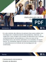 Presentacion Semana 7 y 8 Modulo 4 NURS 3050 stu
