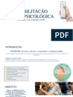 REABILITACÃO NEUROPSICOLÓGICA