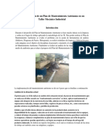 Implementación de un Plan de Mantenimiento Autónomo en un Taller Mecánico Industrial