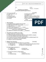 Analysis & interpertation of Accounts 1&2 Test