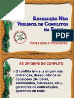 Resolução não violenta de conflitos na escola