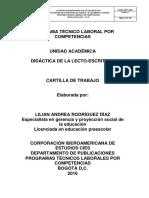 DIDÁCTICA DE LA LECTOESCRITURA UNIFICADA (1)