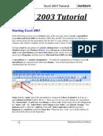 12838822-Excel-2003-Tutorial