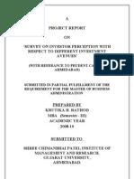 KRUTIKA- Prudent project