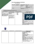 Planificación Lenguaje Sextos Unidad 2 2021