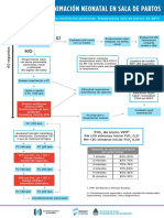 Algoritmo Reanimacion Neonatal MSAL SAP