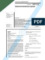 NBR 6158-1995 - Ajustes e Tolerâncias - Saved 05-04-04