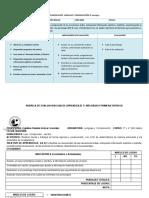Formato Planificación y Rúbrica.
