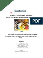 DIAGNOSTICO SITUACIONAL _RESTAURANTE Y CEVICHERIA PELICANOS SAC- PASSOMA-003- 16.05.21