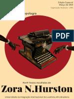 Revista Ay Unilab Edio Especial Zora n. Hurston