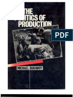 Burawoy 1985 - The Politics of production