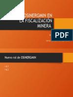 Rol de Osinergmin en La Fiscalización Minera