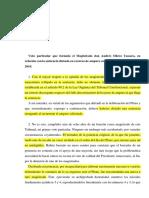 TCE - Caso Pablo Fragoso Dacosta - Ultrajes a la bandera no están amparados por la libertad de expresión - Voto particular Andrés Ollero Tassara
