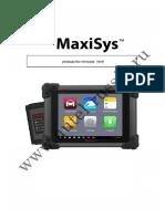 Руководство Пользователя Autel MaxiSys MS908 (RUS)
