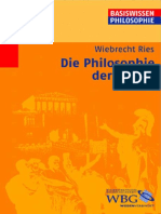 Ries - Die Philosophie der Antike 2005
