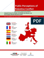 European Public Perceptions of  the Israel-Palestine Conflict [Summary Report January 2011]