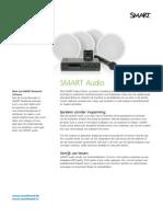 Productblad SMART Audio - NL