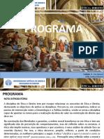 MODULO -  PROGRAMA ÉTICA E DIREITO - 2021