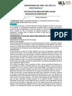 1.-EVALUACION RECUPERACION  5A-5B-5C-5D SEGUNDO GRUPO