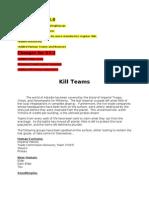 Kill Teams v3.1