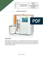 MANUAL DE USUARIO ELECTROLITOS  AUTO CARETIUM