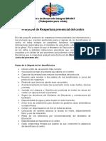 Protocolo Centro DR0367