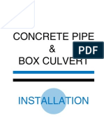Concrete Pipe - Installation Guide