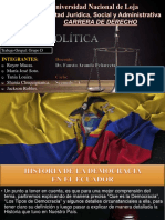 GRUPO D - Historia de La Democracia en El Ecuador