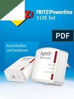 Fritz Powerline 510e manual German