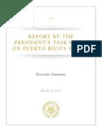 Puerto Rico Task Force Exec Summary