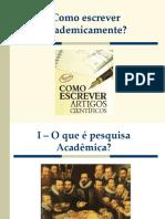 3. Projeto e Artigo Científico
