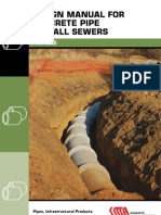Design Manual for Concrete Pipe Outfall Sewers(1)