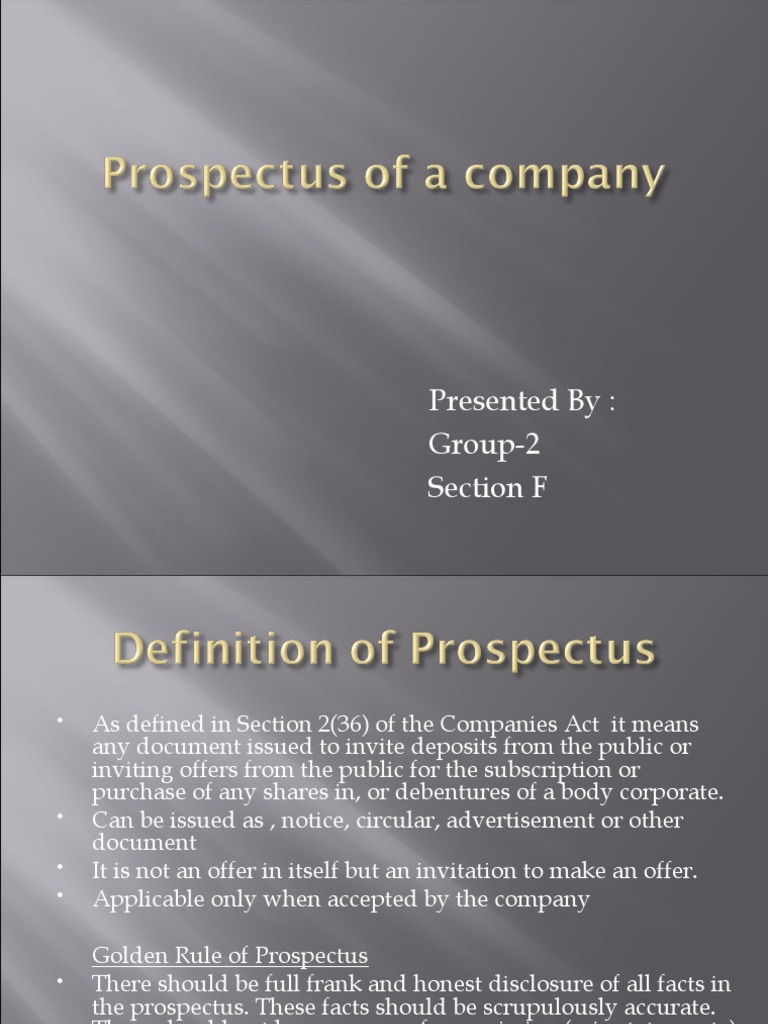 Prospectus of a company final prospectus finance securities prospectus of a company final prospectus finance securities finance stopboris Image collections
