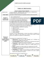Ficha politica de calidad t.