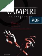 Vampire The Masquerade 5° Ed. - I Mostri