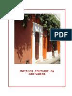 Plan de Marketing Como Herramienta de Gestión Para Hoteles Boutique Ubicados en El Centro Histori