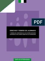 NORMATIVA DERECHOS Y DEBERES DE LOS ALUMNOS + NORMAS DE CONVIVENCIA EN CENTROS DOCENTES PÚBLICOS Y CONCERTADOS