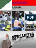 NEWS LETTER Zero cholera caravane (Delmas)