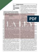 Decreto de Urgencia Nº 046 2021