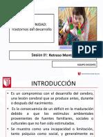 Diapositivas S1 Retraso Mental