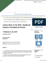 PS Gestão de Custos e formação de preço Webaula 13_03_2019