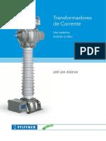 TC A OLEO USO EXTERNO JOF (24 –550) kV