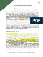 FIESTA DE LA PRESENTACIÓN DEL SEÑOR 2014