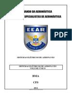 CFS BMA - SISTEMAS ELÉTRICOS DE AERONAVES - 2014 (VU)